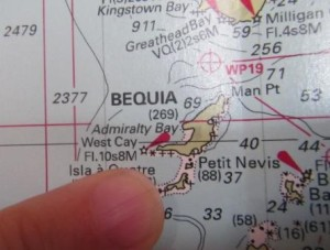 Bequia and Port Elizabeth in Admiralty Bay