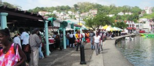 outdoor market in St. George